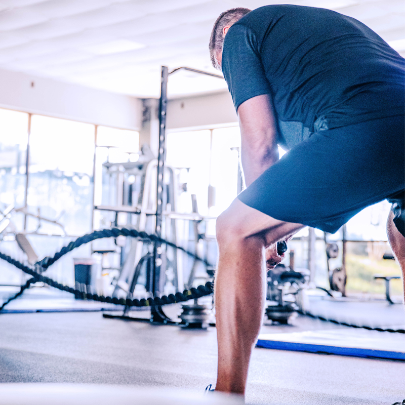 Pusing yourself to gain muscle with the best personal trainers in Mobile, Alabama