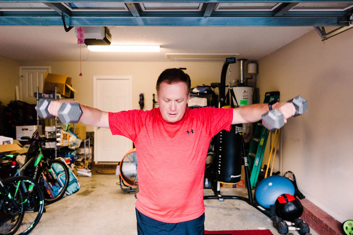 Personal training and home fitness